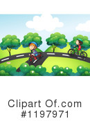 Bike Clipart #1197971 by Graphics RF