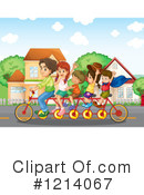 Bike Clipart #1214067 by Graphics RF