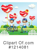 Bike Clipart #1214081 by Graphics RF