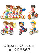 Bike Clipart #1226667 by Graphics RF