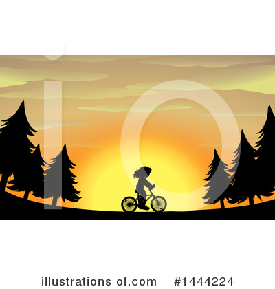 Royalty-Free (RF) Bike Clipart Illustration by Graphics RF - Stock Sample #1444224