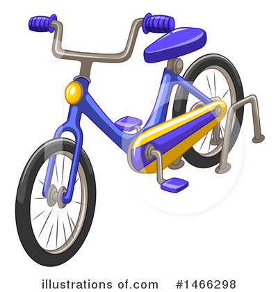 Bike Clipart #1466298 by Graphics RF