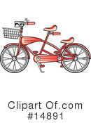 Royalty-Free (RF) bike Clipart Illustration #14891