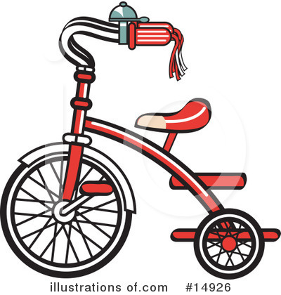 Bike Clipart #14926 by Andy Nortnik
