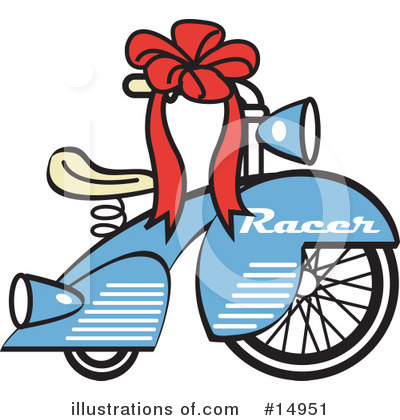 Bike Clipart #14951 by Andy Nortnik
