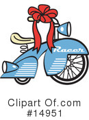 Royalty-Free (RF) bike Clipart Illustration #14951
