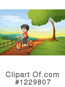 Bike Ride Clipart #1229807 by Graphics RF