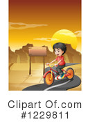 Bike Ride Clipart #1229811 by Graphics RF