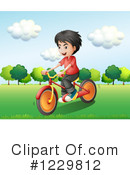 Bike Ride Clipart #1229812 by Graphics RF