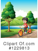Bike Ride Clipart #1229813 by Graphics RF