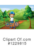Bike Ride Clipart #1229815 by Graphics RF