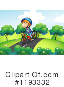 Bike Riding Clipart #1193332 by Graphics RF