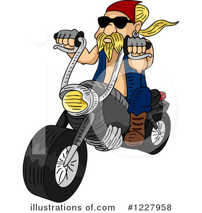 Motorcycle Clipart #1227958 by BNP Design Studio