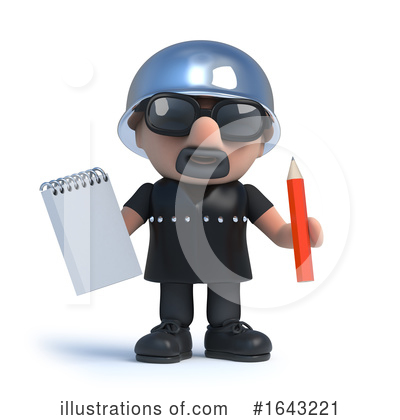 Biker Clipart #1643221 by Steve Young