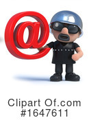 Biker Clipart #1647611 by Steve Young