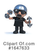 Biker Clipart #1647633 by Steve Young