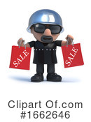 Biker Clipart #1662646 by Steve Young