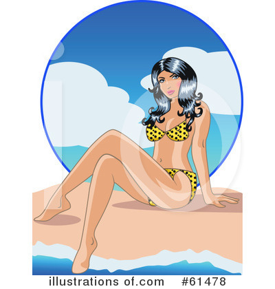 Bathing Beauty Clipart #61478 by r formidable