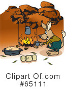 Bilby Clipart #65111 by Dennis Holmes Designs