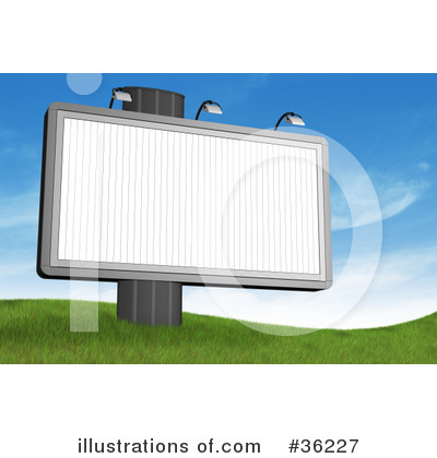 Billboard Clipart #36227 by Frog974