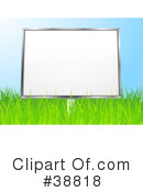 Royalty-Free (RF) billboard Clipart Illustration #38818