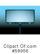 Royalty-Free (RF) Billboard Clipart Illustration #58956
