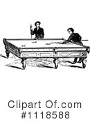 Royalty-Free (RF) Billiards Clipart Illustration #1118588