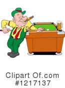 Billiards Clipart #1217137 by LaffToon