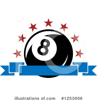 Billiards Clipart #1253006 by Vector Tradition SM