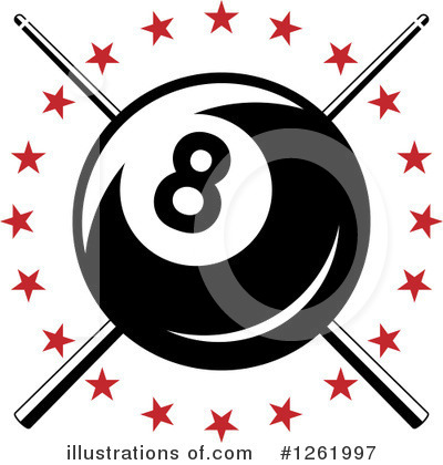 Billiards Clipart #1261997 by Vector Tradition SM