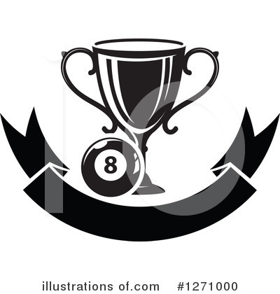 Eightball Clipart #1271000 by Vector Tradition SM