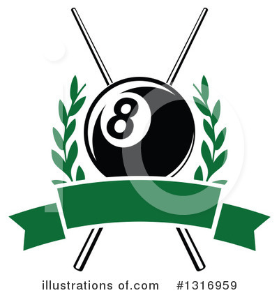 Billiards Clipart #1316959 by Vector Tradition SM