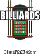 Billiards Clipart #1722749 by Vector Tradition SM