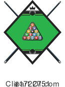 Billiards Clipart #1722751 by Vector Tradition SM