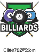Billiards Clipart #1722756 by Vector Tradition SM