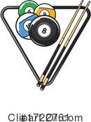Billiards Clipart #1722761 by Vector Tradition SM