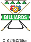 Billiards Clipart #1722765 by Vector Tradition SM