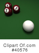 Billiards Clipart #40576 by Frank Boston