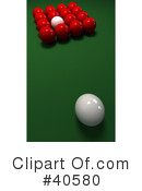 Billiards Clipart #40580 by Frank Boston