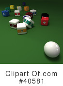 Billiards Clipart #40581 by Frank Boston