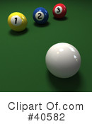 Billiards Clipart #40582 by Frank Boston