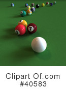 Billiards Clipart #40583 by Frank Boston