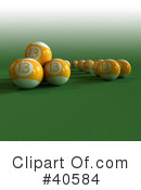 Billiards Clipart #40584 by Frank Boston