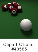Billiards Clipart #40585 by Frank Boston