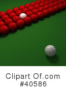 Billiards Clipart #40586 by Frank Boston