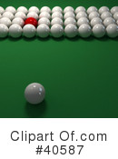 Billiards Clipart #40587 by Frank Boston