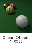 Billiards Clipart #40588 by Frank Boston