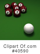 Billiards Clipart #40590 by Frank Boston