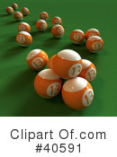 Billiards Clipart #40591 by Frank Boston