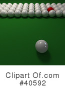 Billiards Clipart #40592 by Frank Boston